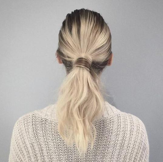 Peinado coleta