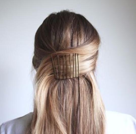 Peinado horquillas