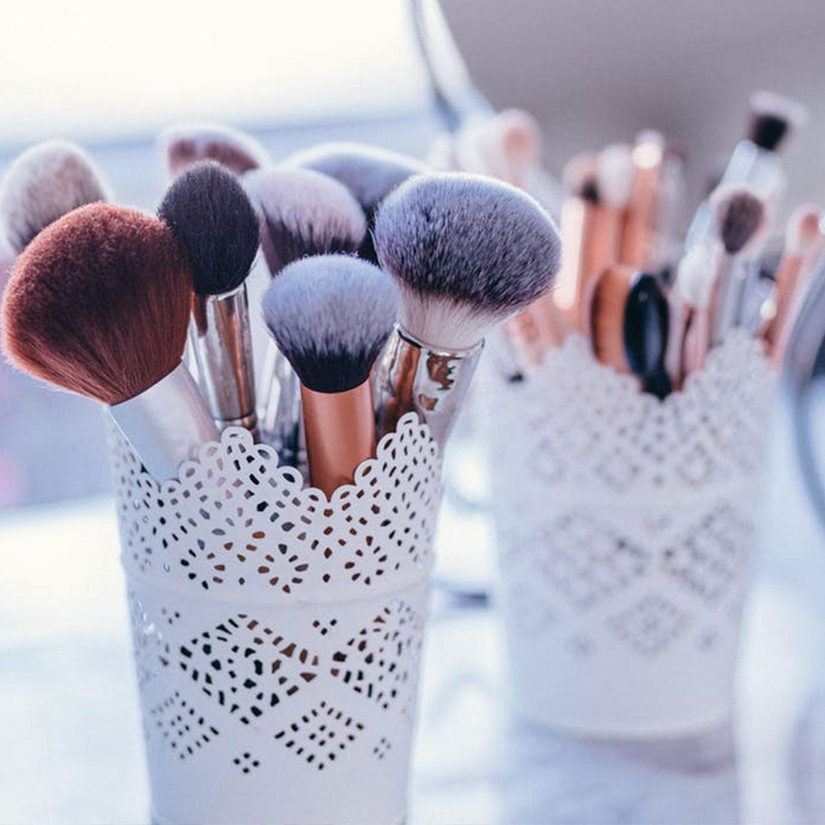 ¿Para qué sirve cada brocha de maquillaje?